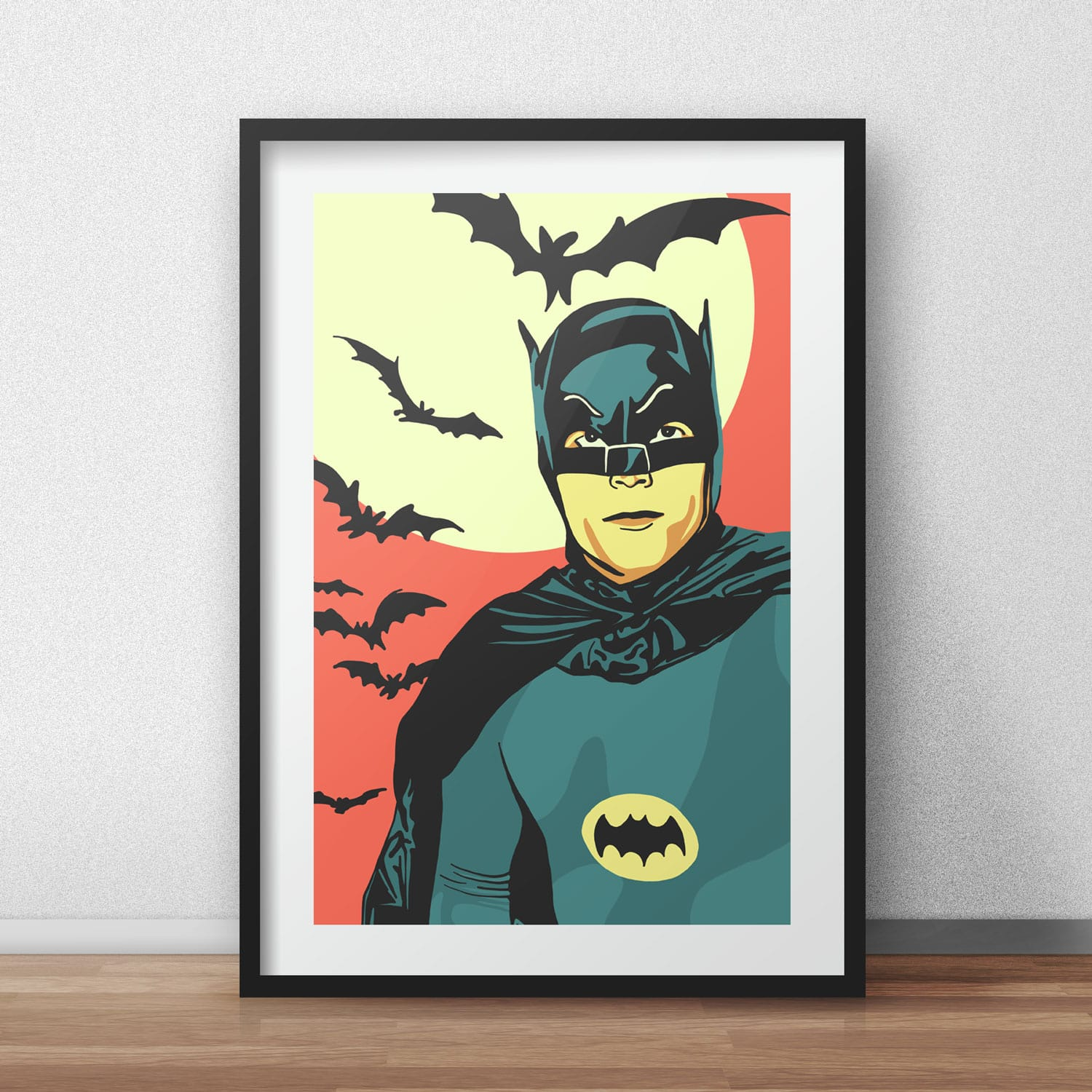 The Holiday Site: Coloring Pages of the Classic Batman TV Series | 1500x1500